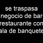 TRASPASO RESTAURANTE CAFETERIA CATARROJA